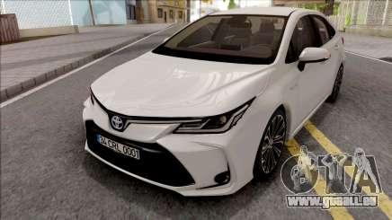 Toyota Corolla Hybrid 2020 pour GTA San Andreas