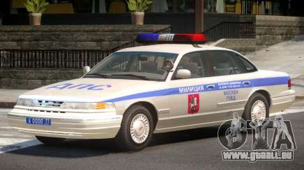 Ford Crown Victoria Police V1.0 pour GTA 4