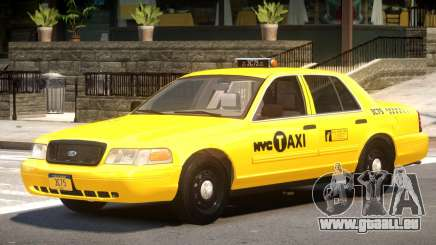Ford Crown Victoria Taxi V1.1 für GTA 4