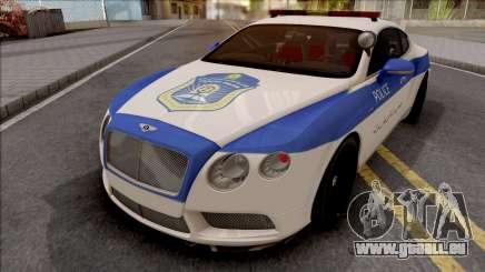 Bentley Continental GT Iranian Police v2 für GTA San Andreas