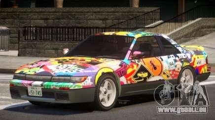 Nissan Silvia S13 ST PJ3 für GTA 4