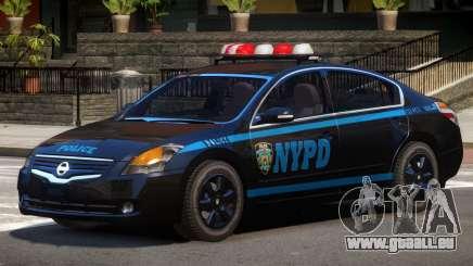 Nissan Altima Police V1.0 pour GTA 4