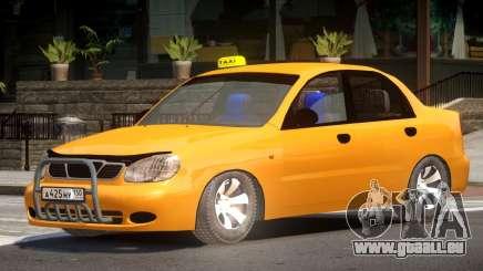 Daewoo Lanos Taxi V1.0 pour GTA 4