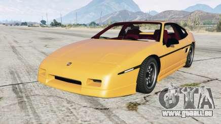 Pontiac Fiero GT 1985 für GTA 5