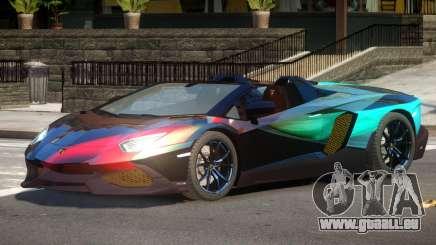 Lamborghini Aventador STR PJ5 pour GTA 4