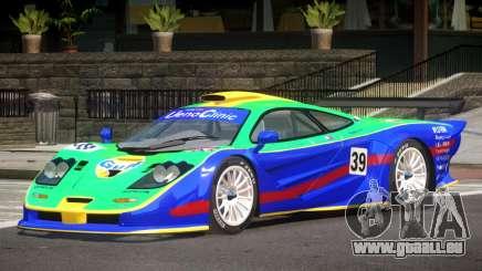McLaren F1 GTR Le Mans Edition PJ3 pour GTA 4