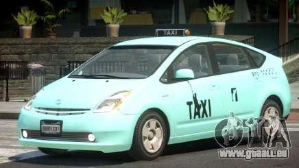 Toyota Prius 2 Taxi V1.2 pour GTA 4