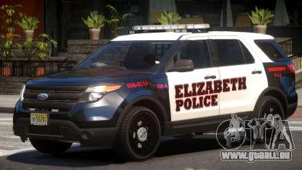 Ford Explorer Police V.0 für GTA 4