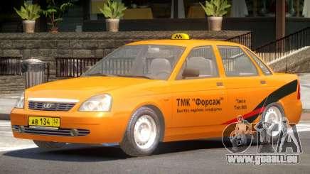 Lada Priora Taxi V1.0 pour GTA 4