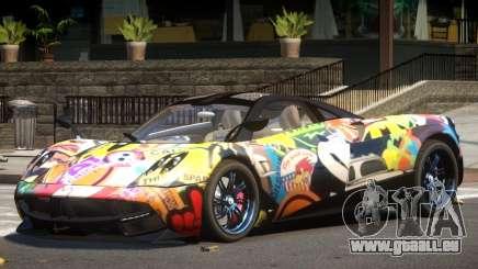 Pagani Huayra GT V1.0 PJ für GTA 4