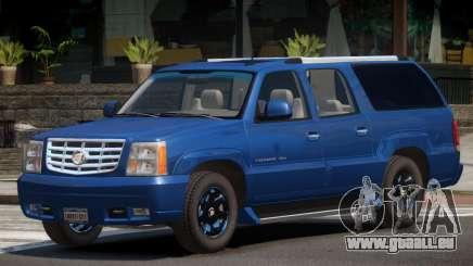 Cadillac Escalade ESV V1.0 pour GTA 4