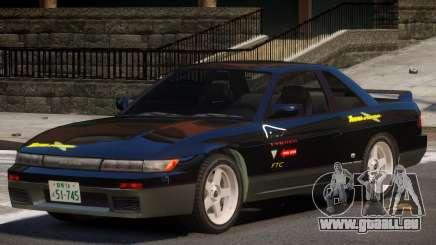 Nissan Silvia S13 ST PJ1 für GTA 4