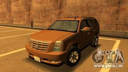 Cadillac Escalade 2007 pour GTA San Andreas