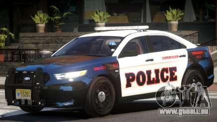 Ford Taurus Police V1.0 pour GTA 4