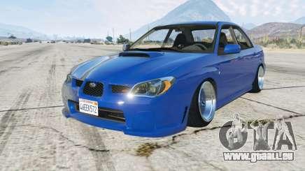 Subaru Impreza WRX STi (GDB) 2006 pour GTA 5