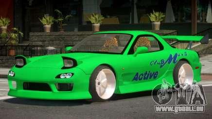 Mazda RX-7 GTS pour GTA 4