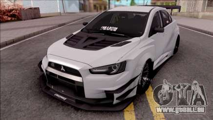 Mitsubishi Lancer Evolution X 2015 Varis Kit für GTA San Andreas