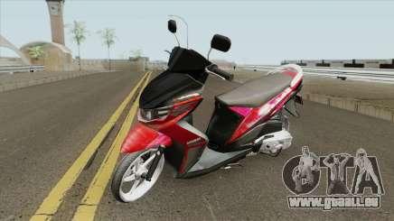 Yamaha Soul GT Babylook pour GTA San Andreas