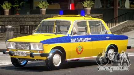 VAZ 2106 Police pour GTA 4