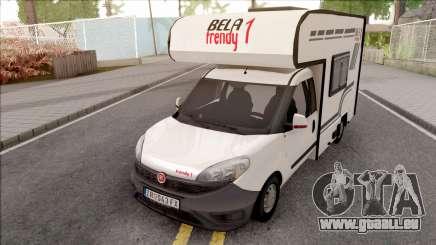 Fiat Doblo Mk3 Wohnmobile für GTA San Andreas