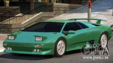 1990 Lamborghini Diablo V1.3 pour GTA 4