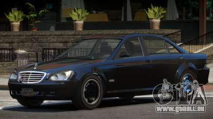 Mercedes Benz W221 Stock pour GTA 4