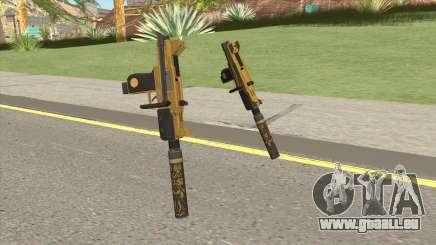 Micro SMG (Luxury Finish) GTA V Suppressor V1 pour GTA San Andreas