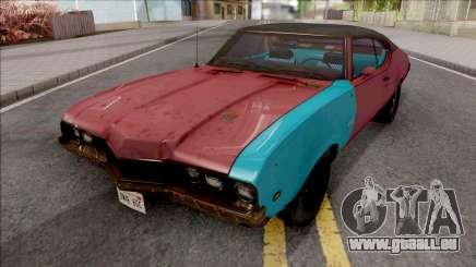 Oldsmobile Cutlass 1968 v2 pour GTA San Andreas