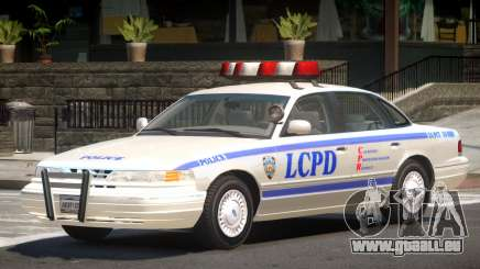 Ford Crown Victoria Police V1.1 pour GTA 4