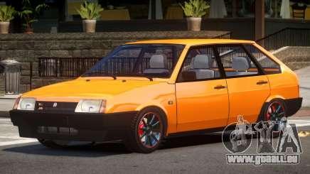 VAZ 2109 Pro Street für GTA 4
