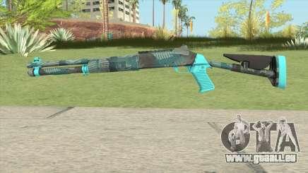 XM1014 Fractal Blue (CS:GO) pour GTA San Andreas