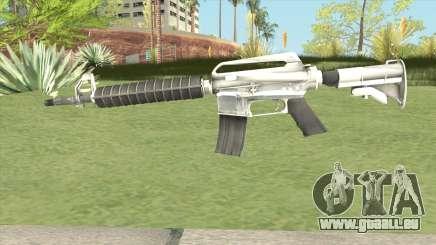 M4 (White) pour GTA San Andreas