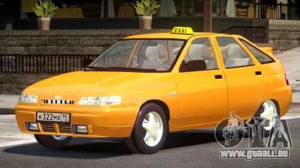 VAZ 2112 Taxi V1.0 pour GTA 4