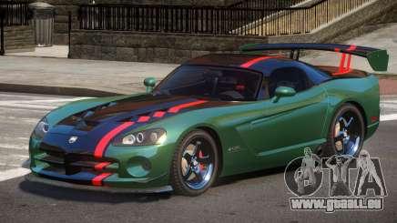 Dodge Viper SRT Spec V1.3 pour GTA 4