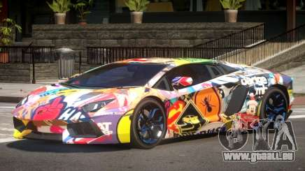 Lamborghini Aventador RS PJ4 pour GTA 4
