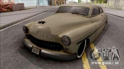 Mercury Coupe Custom 1949 v2 pour GTA San Andreas