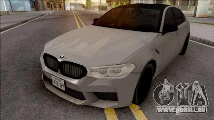 BMW M5 Competition 2019 für GTA San Andreas