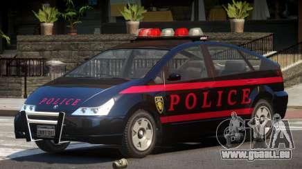 Karin Dilettante Police V1.0 pour GTA 4