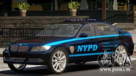 BMW 350i Police V1.0 pour GTA 4