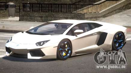 Lambo Aventador V1.0 pour GTA 4
