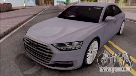 Audi A8 2018 Grey pour GTA San Andreas