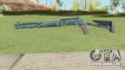 XM1014 Varicamo Blue (CS:GO) pour GTA San Andreas