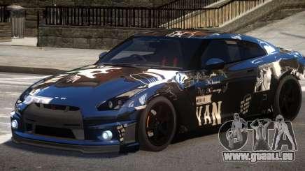 Nissan GT R35 V1.0 PJ3 für GTA 4