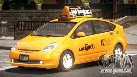 Toyota Prius 2 Taxi V1.1 pour GTA 4