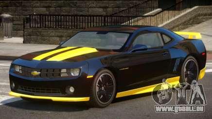 Chevrolet Camaro Black Edition pour GTA 4
