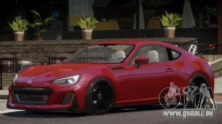 Subaru BRZ GT pour GTA 4