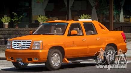 Cadillac Escalade EXT V1.0 pour GTA 4