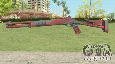 XM1014 Nukestripe Maroon (CS:GO) pour GTA San Andreas