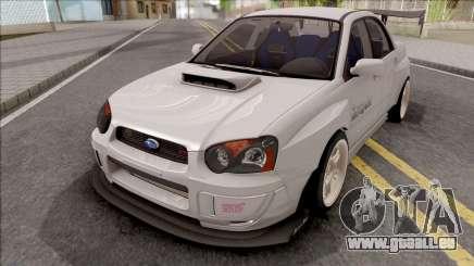Subaru Impreza WRX STI Battle Aero pour GTA San Andreas