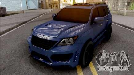 Lexus LX 570 INVADER für GTA San Andreas